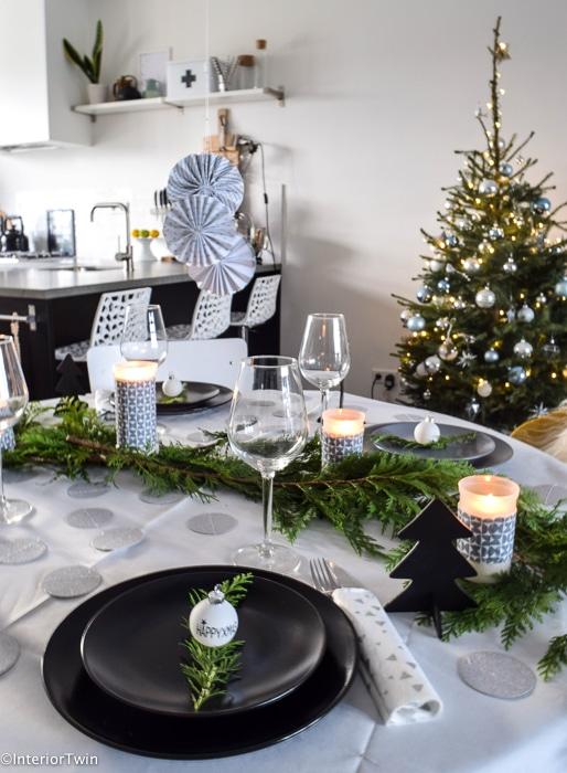 Cool eettafel kerst zoals jullie zien hoeft het niet veel for Kerst ideeen voor in huis