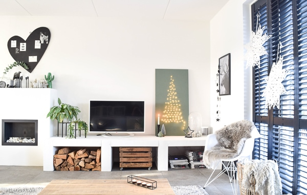 kerstboom van hout