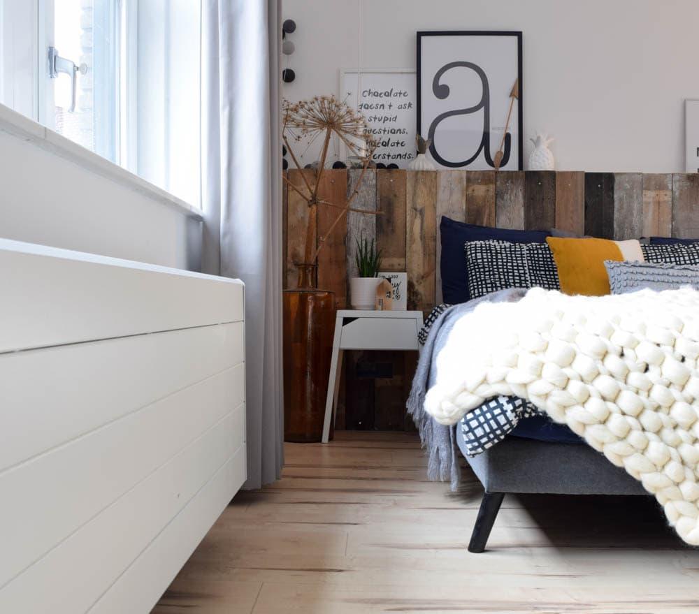 boxspring make-over slaapkamer interiortwin