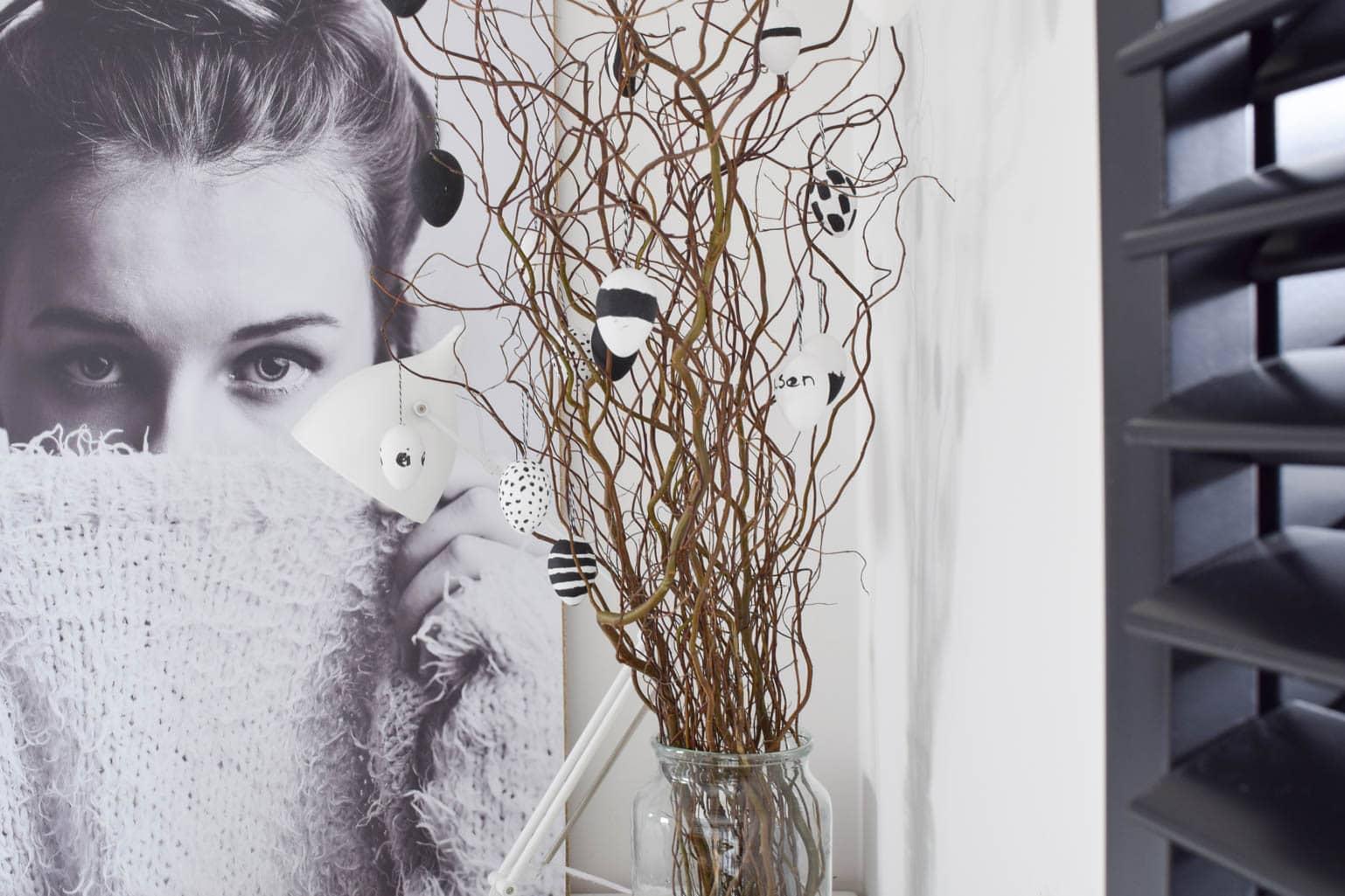 paaseieren schilderen in stijl - interiortwin