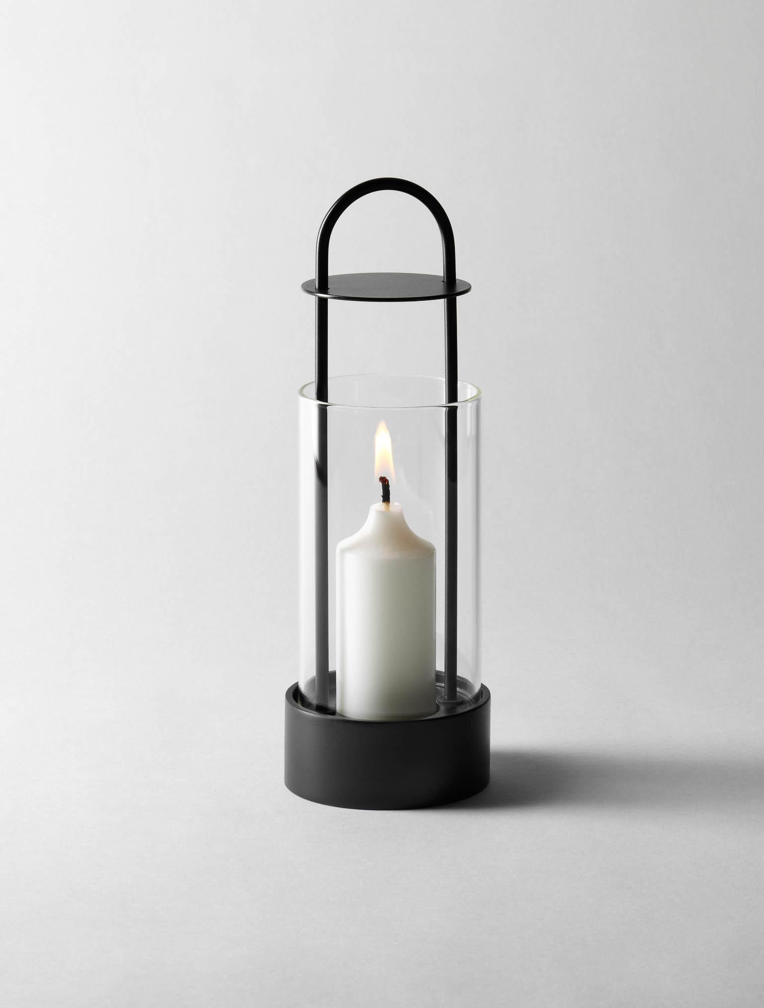 lotus block candle