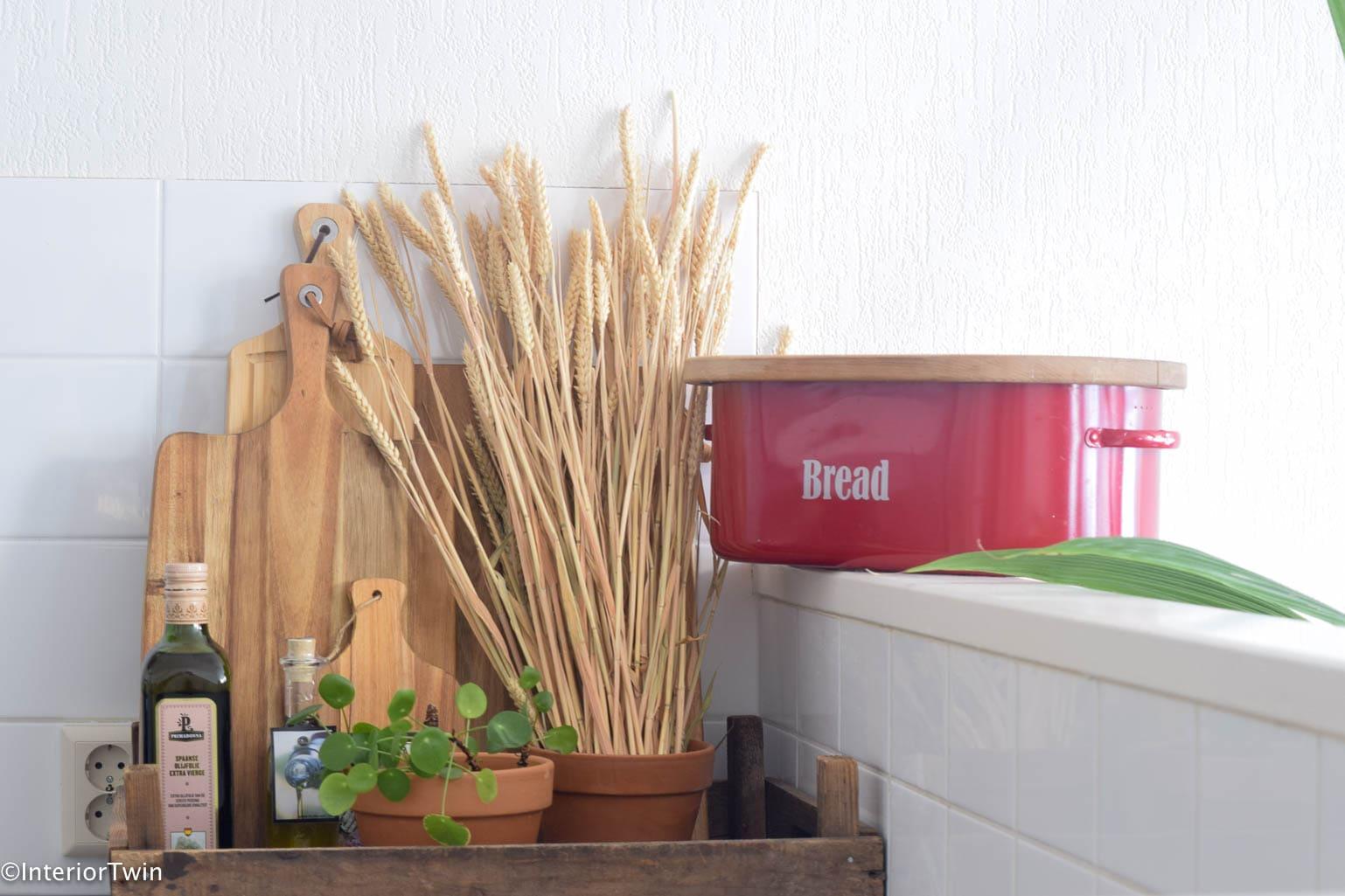 accessoires in de keuken