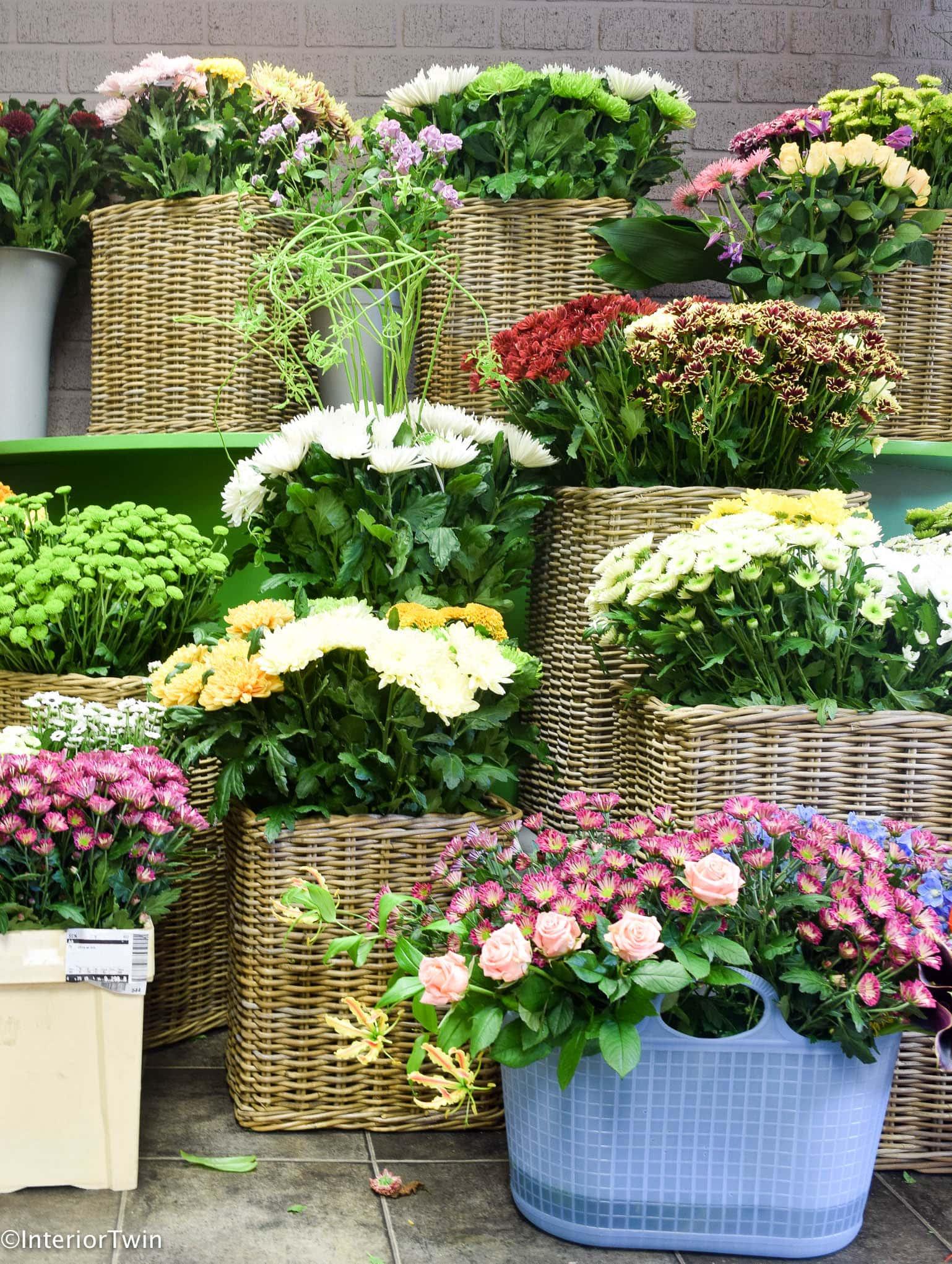 Chrysanten en andere bloemen