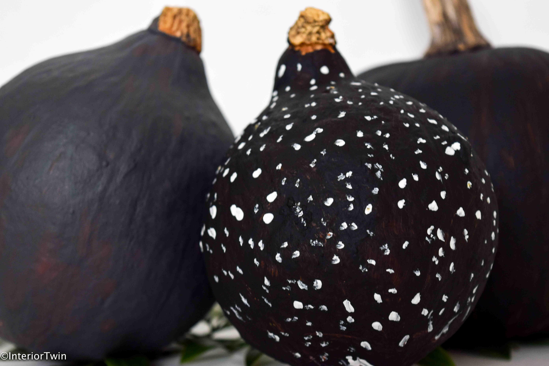 pompoenen verven