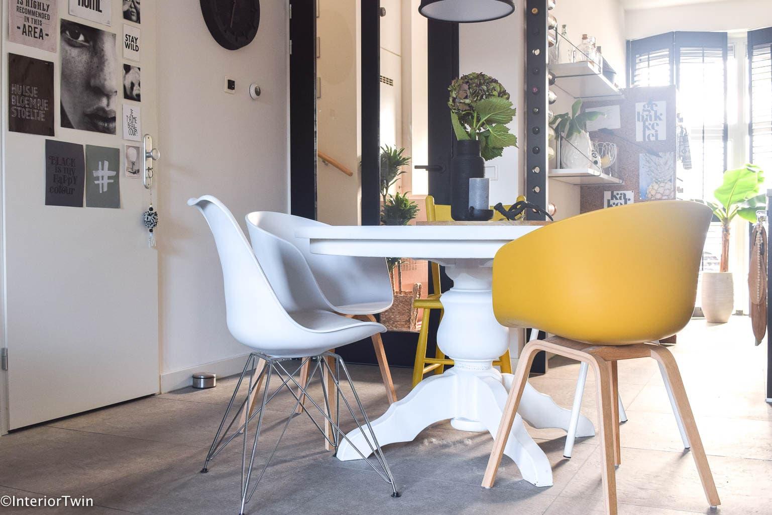 Super 5 tips voor verschillende stoelen aan tafel | InteriorTwin VU69