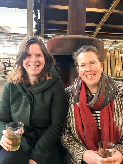 Ilse van Elleswijk en Ilse Witjes