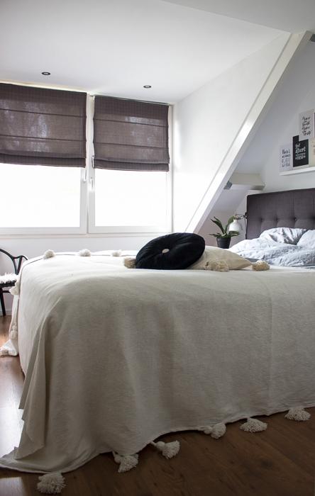 slaapkamer boho industrieel - InteriorTwin