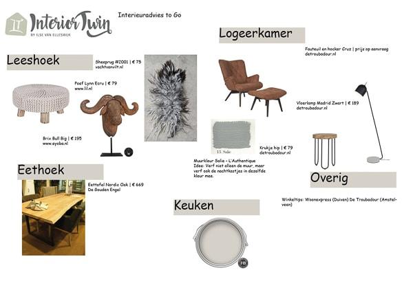 interieuradvies vrijstaande villa Wijchen