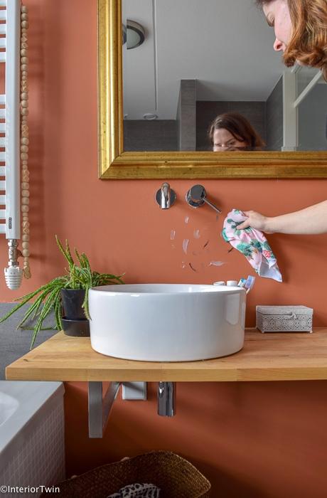 badkamer schoonmaken - InteriorTwin