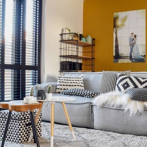 bijzettafels als salontafel woonkamer