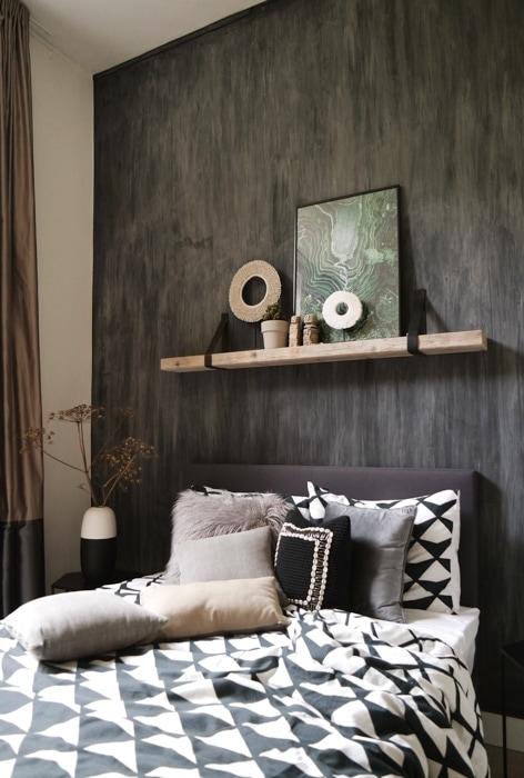 Inspiratie een houten plank in je interieur interiortwin for Plank boven bed