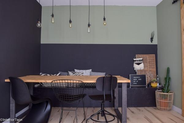Zwarte eetkamerstoelen interiortwin for Zwarte eetkamerstoelen