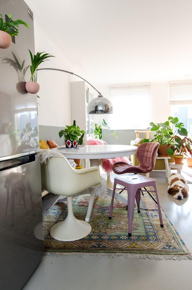 Roze in je interieur: van roze muur tot roze meubels in huis ...