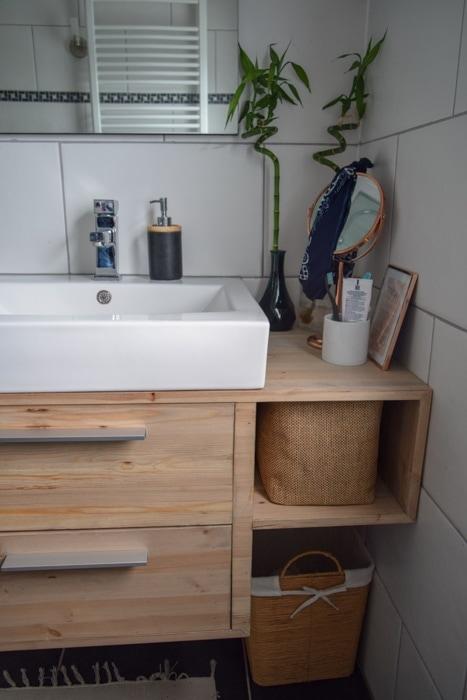zelf badkamer meubel maken - InteriorTwin