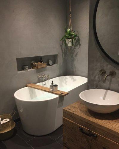 stoere badkamer @wonenbijes