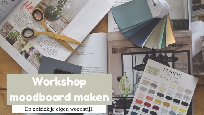 workshop moodboard maken arnhem