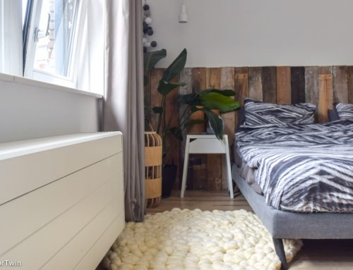 DIY: rond vloerkleed haken van lontwol