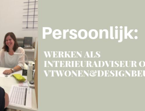 Persoonlijk: werken als interieuradviseur op de Vtwonen&designbeurs