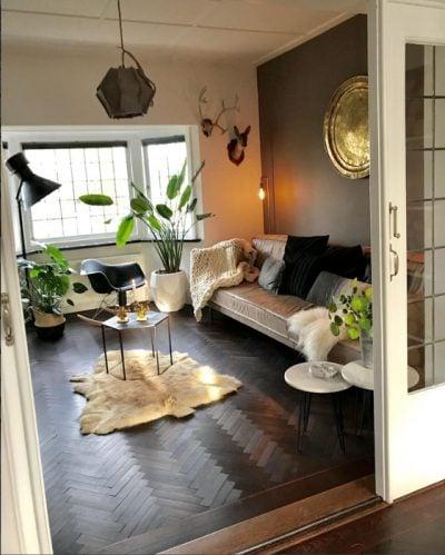 stoere woonkamers instagram (foto sabine la met)