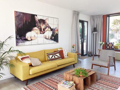 vintage modern interieur @wiekeontwerpt