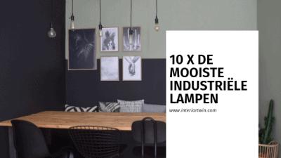 10 x de mooiste industriële lampen