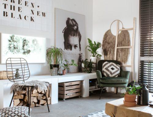 DIY: een wandpaneel als muurdecoratie