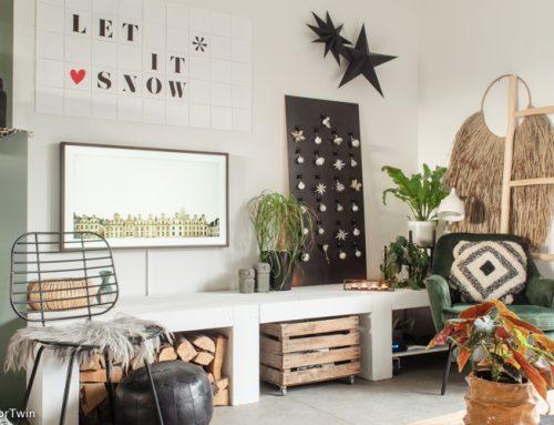 DIY: een duurzame 'kerstboom'