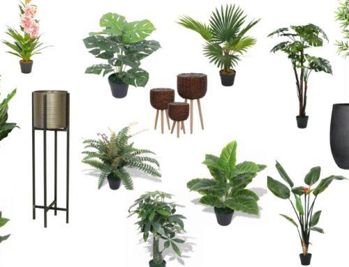 15 mooie goedkope kunstplanten voor binnen