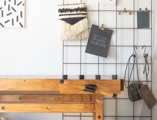 Een oude werkbank in huis? DIY voor minder dan 200 euro