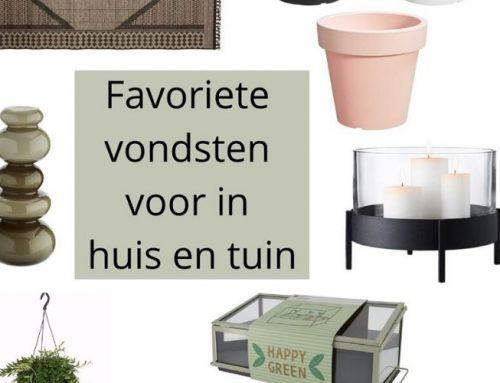 Favoriete vondsten voor in huis & tuin