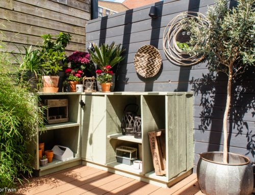 DIY: zelf een buitenkeuken maken