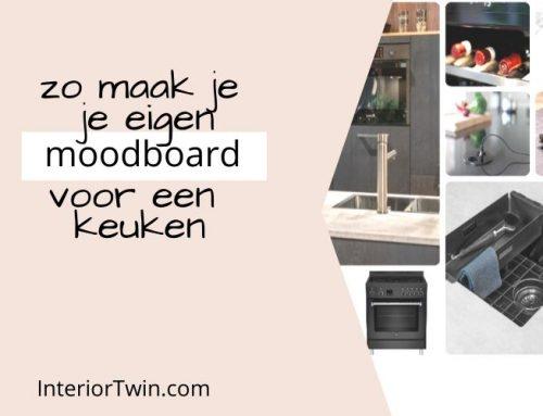 Zo maak je je eigen moodboard voor een keuken