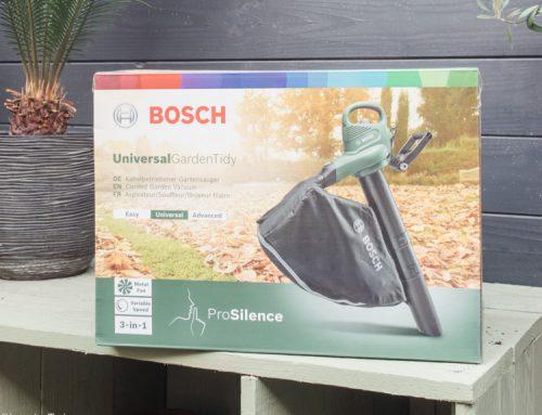 Review: elektrische bladblazer UniversalGardenTidy van Bosch