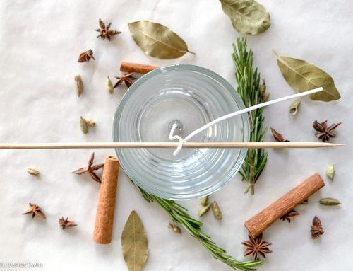 DIY: zelf soja geurkaarsen in glas maken